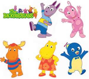 Backyardigans Names And Pictures Items Similar To Set Of 6 Backyardigans Removable Wall