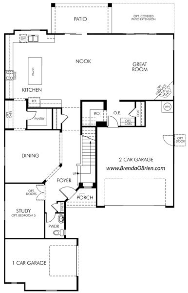 meritage homes floor plans meratige rancho vistoso floor plan coronado model