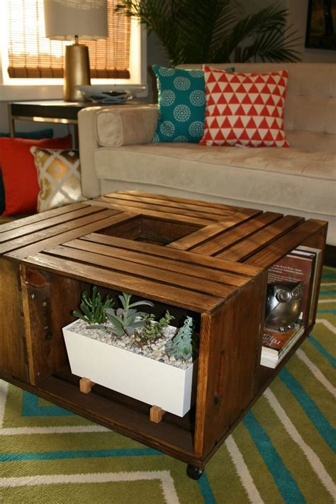 Wine Crate Coffee Table Diy Diy Wooden Wine Crate Coffee Table Leawood Lifestyle Magazine