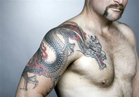 chinese dragon tattoo designs for men 77 wonderful shoulder tattoos