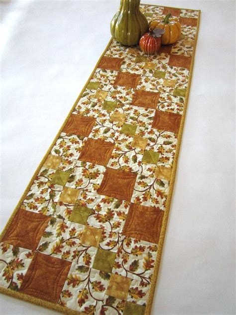 fall table runner 108 3341 best images about mug rugs table runners on