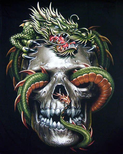 vampire skull dragon t shirt chinese dragon mens t