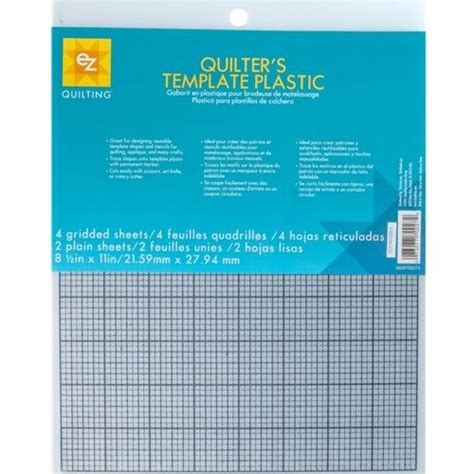 Quilters Template Plastic ez quilting quilters template plastic
