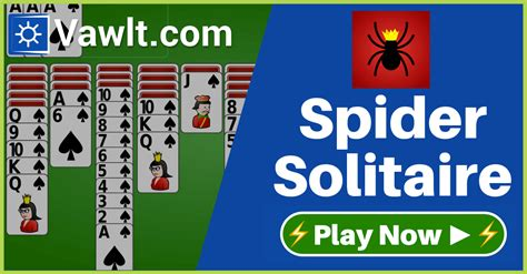 spider solitaire  vawlt play  spider solitaire