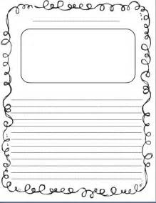 Free Writing Paper With Borders Writing Paper For Kids With Borders Images