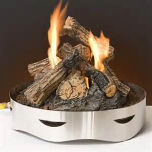 Woodland Direct Fire Pit sojoe liquid propane log insert for fire pit