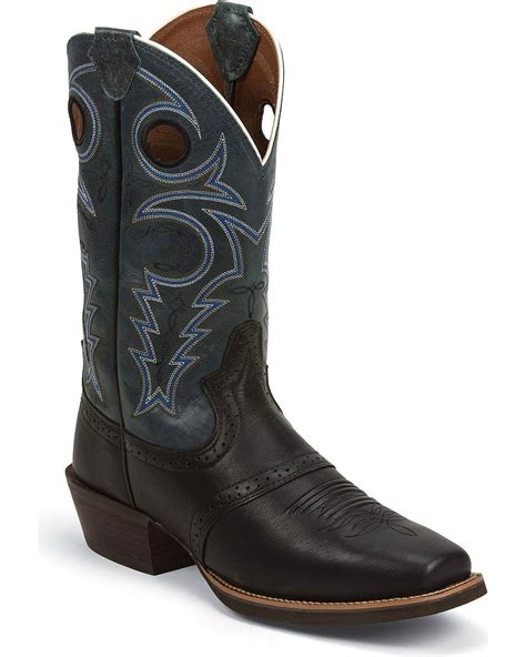 justin silver boots justin s silver punchy saddle v cowboy boot square