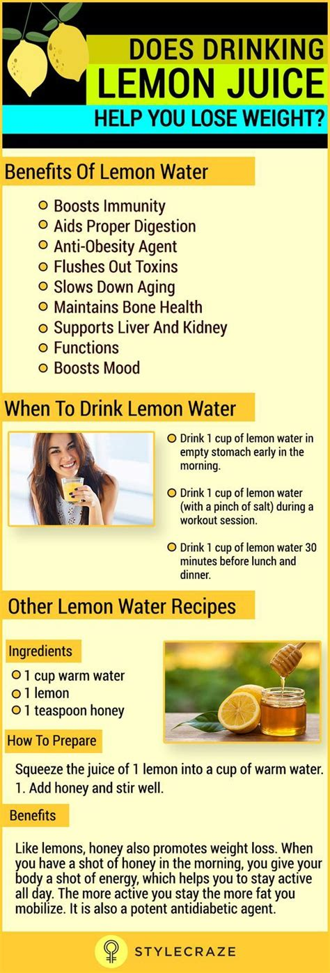 Lemon Juice Detox Benefits by Does Lemon Juice Help You Lose Weight Weight