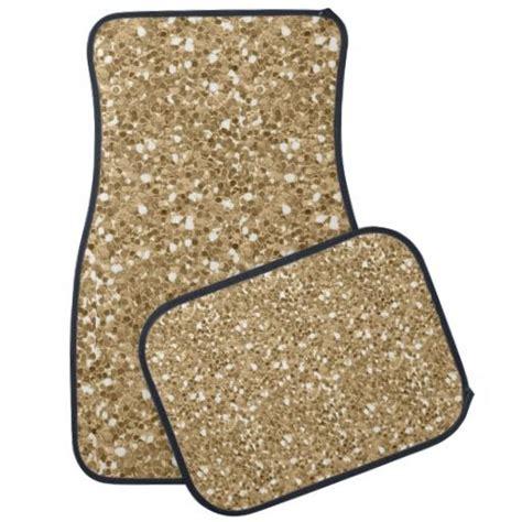 gold glitter car gold faux glitter car mat glitter floor