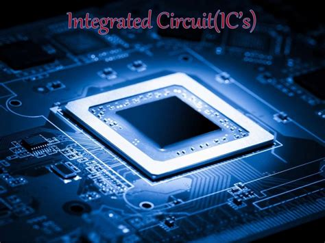 integrated circuit era integrated circuit