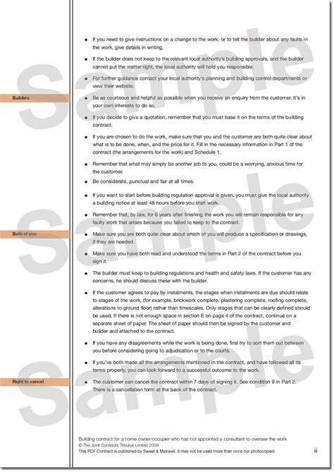 design and build contract ireland sle building contract 187 guidance notes
