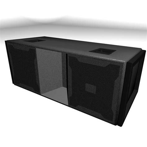 Speaker Line Array Jbl 3d model jbl line array speaker