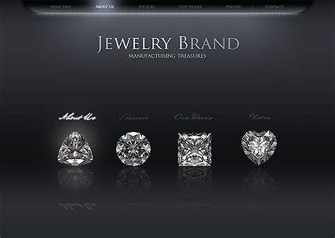 jewelry templates jewelry flash website template best website templates