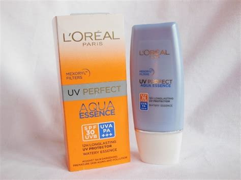 l oreal uv aqua essence spf 30 sunscreen