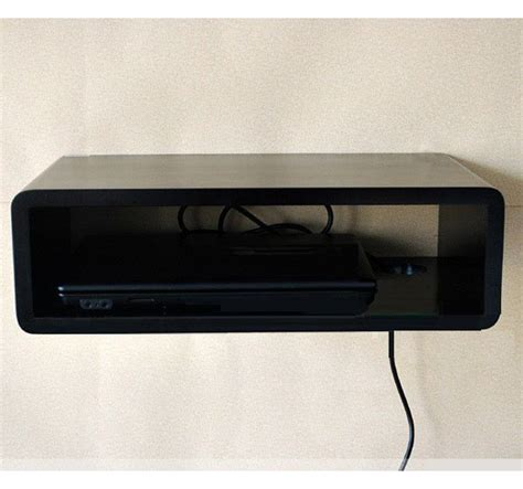 Tv Cable Box Shelf by Wood Wall Display Shelves Tv Cable Box Room Decor Home