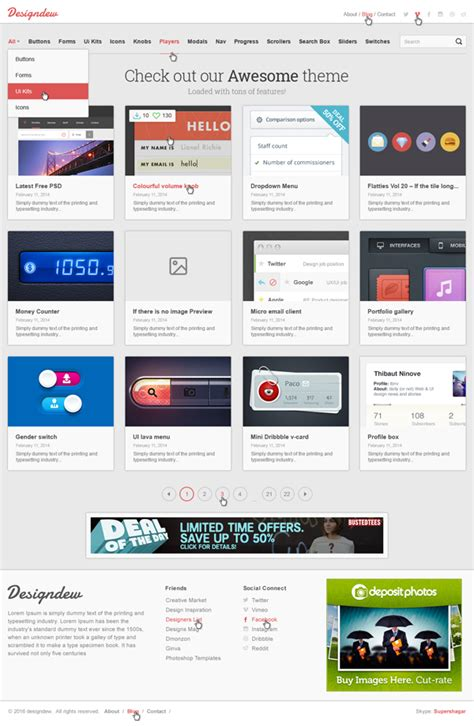 free website template responsive 15 free responsive psd website templates idevie