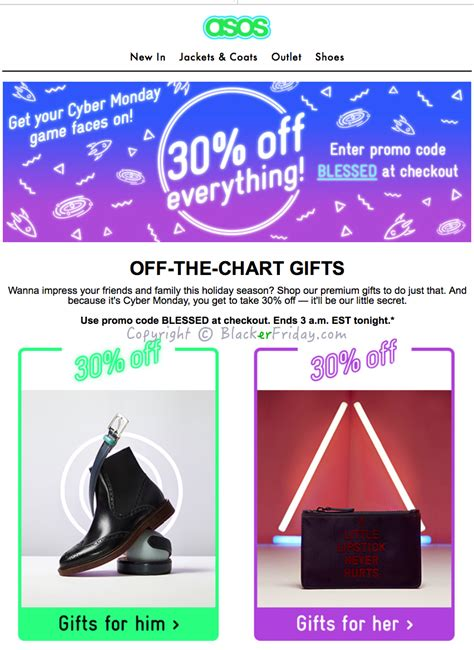 Manic Monday At The Asos Sale by Asos Cyber Monday 2017 Sale Deals Blackerfriday