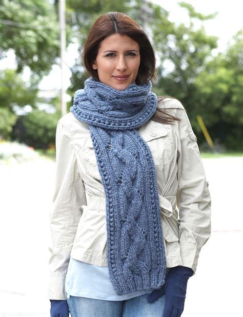 zigzag knitting pattern scarf bernat zig zag scarf knit pattern yarnspirations