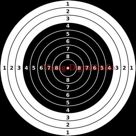 printable bullseye targets printable bullseye shooting targets for by