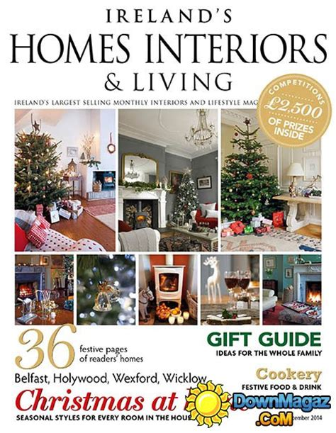 home design magazine ireland ireland s homes interiors living december 2014