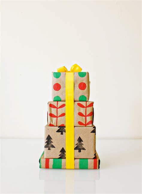 Handmade Gift Wrap - eat sleep cuddle gift wrap