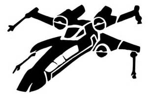 star mirror stickers x double: wing sticker vinyl decals star wars spaceship car window wall