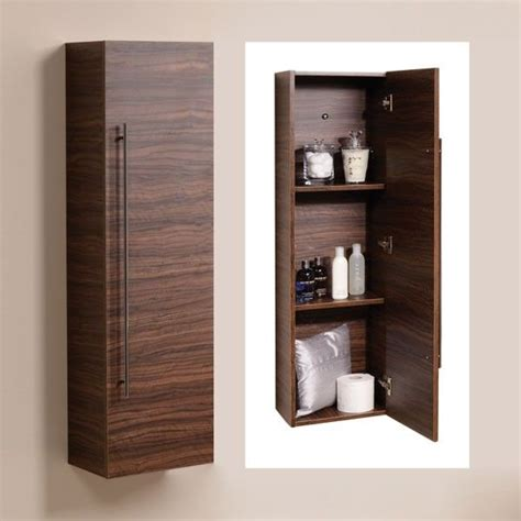wall mounted bathroom storage units aspen 120cm walnut wall mounted storage unit create a