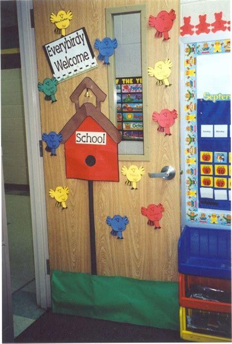 Hanging Classroom Decorations by Birdhouse Classroom Door Decor Birdhouse