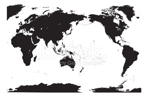 world map black and white vector genaue vektor weltkarte detailliert stockfotos