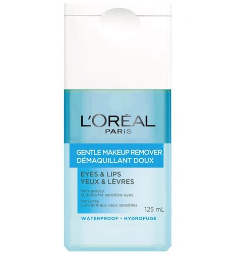 L Oreal Dex Gentle Lip Eye Make Up Remover 125ml 100 Original l or 233 al gentle make up remover for 125ml from supermart ae