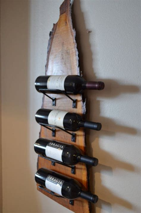 pattern for wood wine rack natural wood with live edge wine rack dc apartment