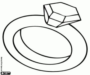 diamond ring coloring pages fashion and beauty coloring pages printable games