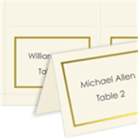 computer printable postcards place cards wedding reception seating arrangement