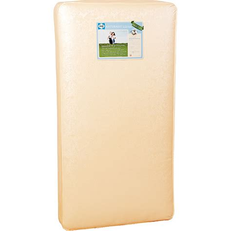 sealy naturalis crib mattress with organic cotton sealy naturalis organic cotton crib mattress walmart