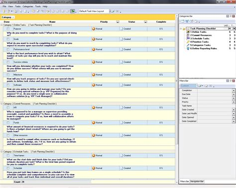 tasks template task management templates