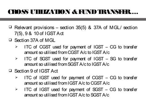 section 37a of income tax act input tax credit in gst
