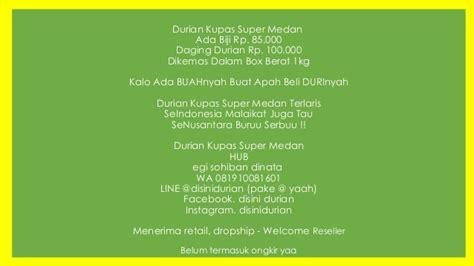 Bibit Durian Tembaga Bangka gambar namlung raja durian bangka pos gambar enak di