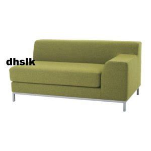 Ikea Kramfors 2 Seat Right Arm Slipcover Cover Ullevi Green