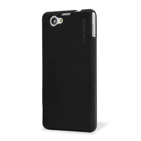 Capdase Soft Jacket Solid Casing For Sony Xperia Cs39h Free Anti Gores capdase sony xperia z1 compact soft jacket xpose black mobilezap australia