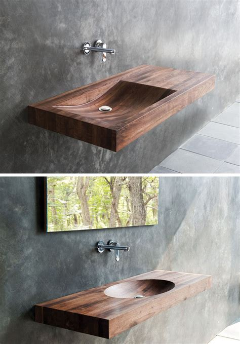 wooden sinks for bathroom bathroom design idea install a wood sink for a