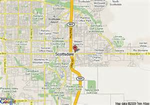 map of scottsdale arizona map of scottsdale arizona map travel vacations