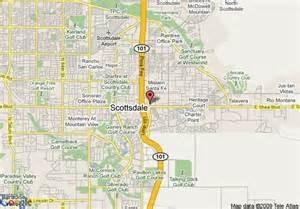 map of scottsdale arizona map travel vacations