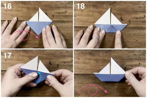 Origami Boat Tutorial - learn how to make a origami sail boat