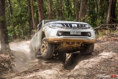 mitsubishi triton offroad 2016 mitsubishi triton exceed review off road test video