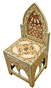 moroccan chair hand painted moroccan chair