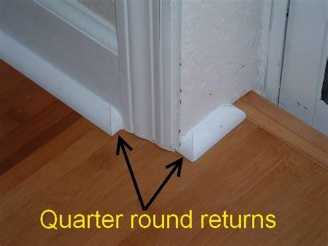 Pergo Vs Hardwood Floors cutting quarter round returns