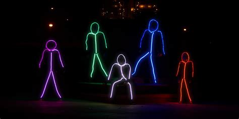 glowy zoey  worlds brightest led stick figure suit