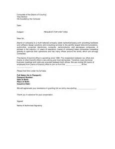Visa invitation letter consulate of the name of country visa section