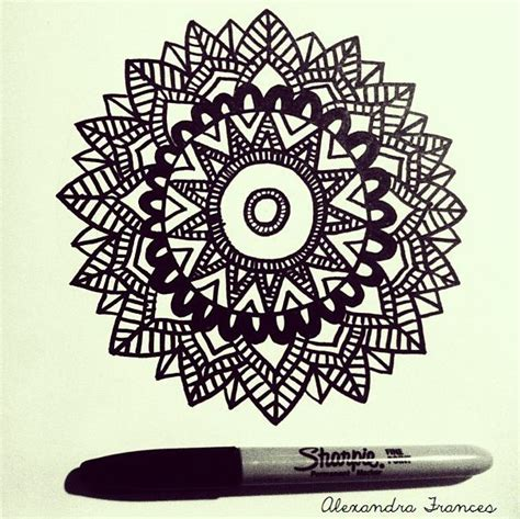 sharpie doodle ideas mandala sharpie illustration tattoos the sequel