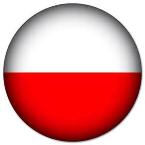 Sticker On The Wall poland polish flag round bumper stickers